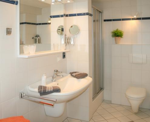 Dusche & WC